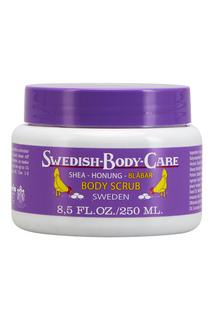 Скраб для тела Shea-Honung-Blabar «Черника» 250ml Victoria Soap