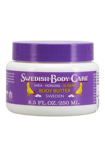 Масло для тела Shea-Honung-Blabar «Черника» 250ml Victoria Soap