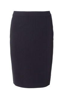 Шерстяная юбка Vilea Hugo Boss