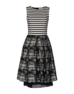 Платье до колена Erika Cavallini Semicouture
