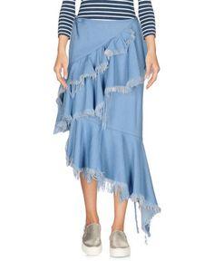 Джинсовая юбка Marques Almeida