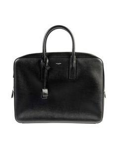 Деловые сумки Saint Laurent