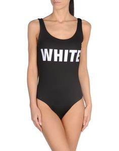 Слитный купальник White*