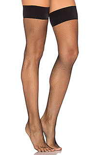 Up all night fishnet thigh high - Commando