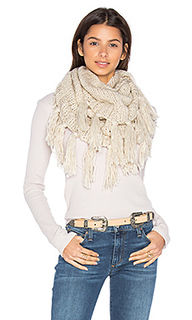 Fringe double loop scarf - Hat Attack