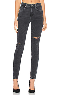Укороченные джинсы с высокой посадкой sophie - AGOLDE