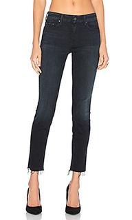 Укороченные джинсы looker fray - MOTHER