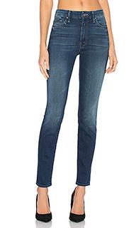 Облегающие джинсы с высоким поясом looker - MOTHER
