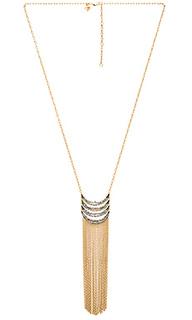 Ожерелье с подвесом с бахромой - Rebecca Minkoff