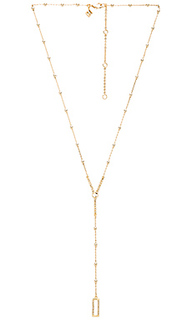 Geo rectangle y necklace - Rebecca Minkoff
