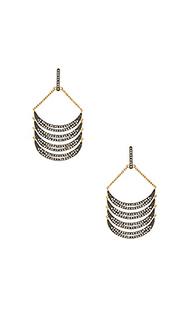 Curve chandelier earrings - Rebecca Minkoff