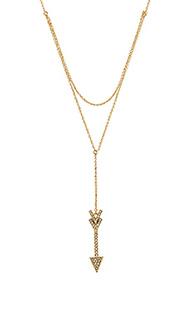 Arrow layered y necklace - Rebecca Minkoff