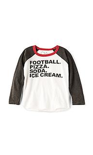 Футболка football & food - Chaser