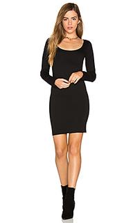 Мини-платье с длинным рукавом - MONROW