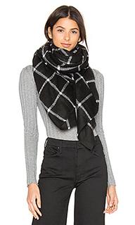 Windowpane blanket scarf - Hat Attack