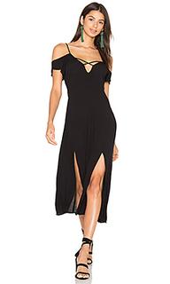 Платье миди frill - Cleobella