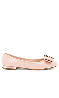 Interlock round toe ballerina - Marc Jacobs