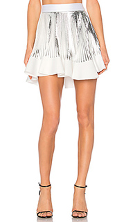 Pleat flute mini skirt - By Johnny