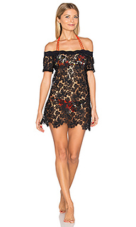 Off shoulder italian lace dress - Sauvage