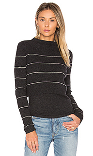 Свитер в полоску isa - 360 Sweater