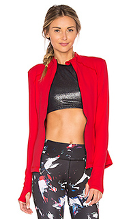 Fitted mock neck jacket - Beyond Yoga