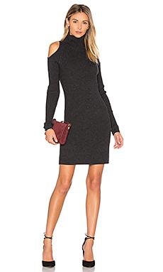 Вязаное платье с открытыми плечами ivana - 360 Sweater