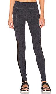 Spacedye pocket & mesh legging - Beyond Yoga