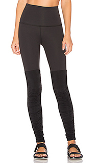Sleek stripe high waist legwarmer legging - Beyond Yoga