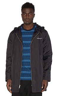 Insulated long hooded coach jacket - Stussy
