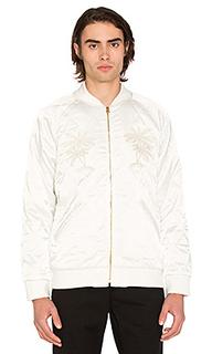 Атласная куртка palm - Stussy