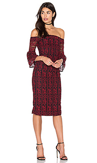 Lace off the shoulder dress - Cynthia Rowley