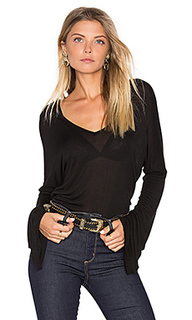 Booker bell sleeve v neck top - Michael Lauren