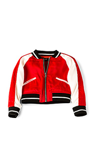 Куртка-бомбер с вышивкой - Bardot Junior