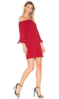 Off shoulder tie sleeve dress - Tibi