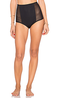 Mesh side high waist bottom - Mara Hoffman