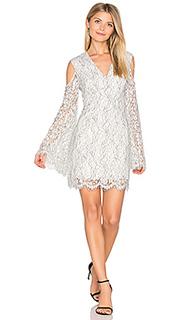 Кружевное платье с длинными рукавами porcelain - keepsake