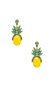 Pineapple studs - Elizabeth Cole