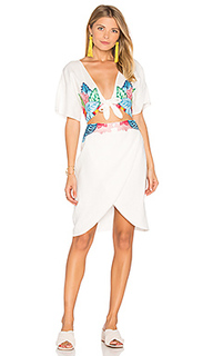 Embroidered flora dress - 6 SHORE ROAD