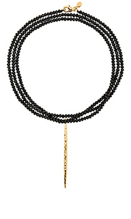 Nora beaded long necklace - gorjana