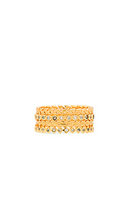 Mini stackable ring set - gorjana