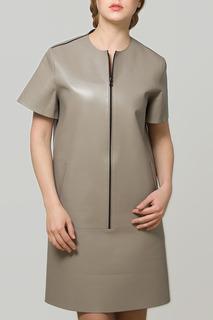 Платье кожаное ADAMO
