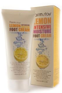 """Крем для ног """"Лимон"""" FARMSTAY"""