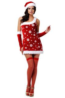 Новогодний костюм снегурочки Le Frivole Costumes