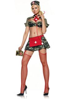 Медсестра в армии Le Frivole Costumes