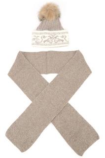 Комплект: шапка, шарф Anna Wolf