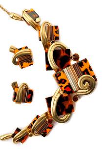 Комплект: колье, серьги ZAXA HADID