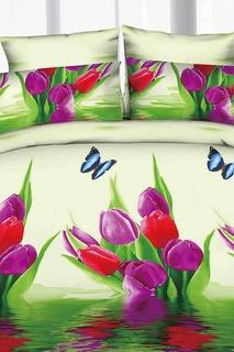 Постельное белье 1,5 сп. Сатин Французский стиль