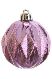 Шар новогодний, 4шт, 6 см Monte Christmas