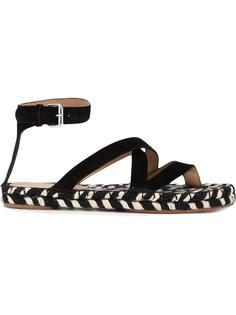 сандалии на плетеной подошве Proenza Schouler