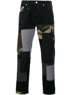 лоскутные джинсы 'Patch Repair' Sophnet.